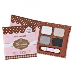 THE BAKERY Gaufres Eyeshadow 4 in 1 No.08