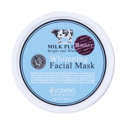 Scentio Milk Plus Whitening Facial Mask