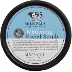 Scentio Milk Plus Whitening Facial Scrub