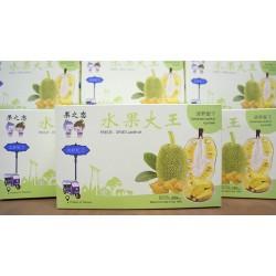 批发泰国果之恋 速冻干燥菠萝蜜干(20盒/箱)  每盒100% 净含量 100g(50g×2包)