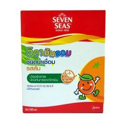 Seven Seas วิตามินรวม ชนิดน้ำเชื่อม รสส้ม