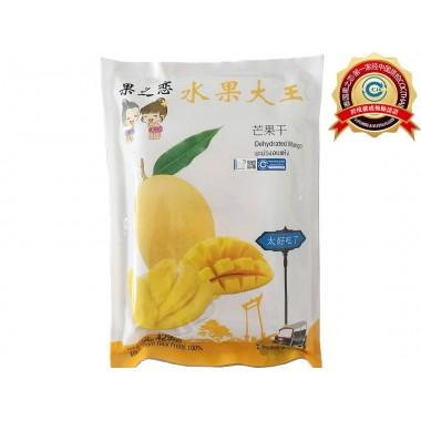 泰国芒果干 100%天然芒果 净含量 净含量 380g(190g×2包)