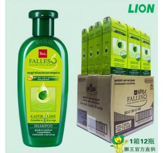 泰国 bsc Falless无硅油萃取莱姆精华防脱干性洗发水180ml X12瓶/箱 包税,包邮