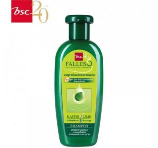 泰国 bsc Falless无硅油萃取莱姆精华防脱干性洗发水180ml X1瓶装 包税,包邮