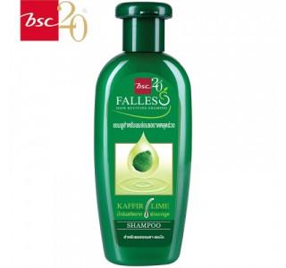 泰国 bscFalless无硅油萃取莱姆精华防脱油性洗发水 300ml x1瓶 男女通用,包邮包税