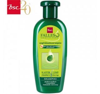 泰国 bsc Falless无硅油萃取莱姆精华防脱干性洗发水 300ml X1瓶装 男女通用,包税,包邮