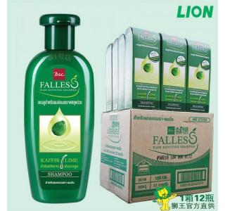 泰国 bsc Falless 无硅油萃取莱姆精华防脱发油性洗发水 180ml x12瓶/箱 [家庭装1箱起]