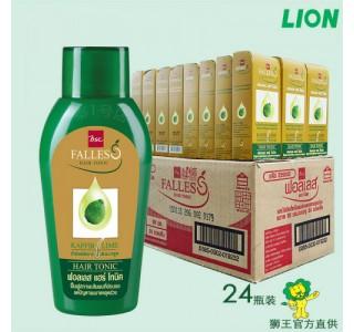 泰国狮王bsc Falless无硅油萃取莱姆精华防脱通用生发水90ml X 24瓶装 男女通用 包税包邮