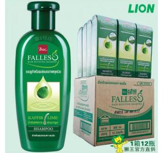 泰国 bscFalless无硅油萃取莱姆精华防脱油性洗发水 300ml x12瓶/箱 男女通用,包邮包税