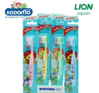 小狮王儿童柔软纤细型牙刷 3-6岁