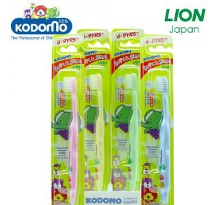 小狮王儿童柔软纤细型牙刷 3-9岁