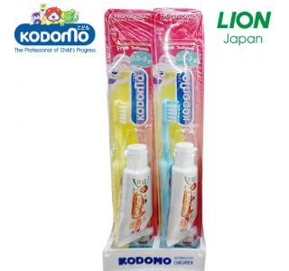 小狮王儿童牙刷+牙膏15克套装 0.5月-3岁 X 48