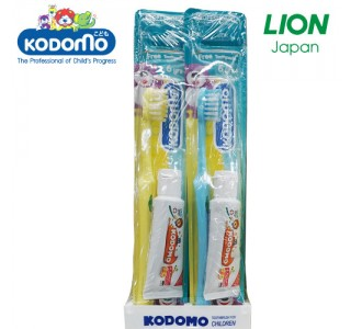 小狮王儿童牙刷+牙膏15克套装 6岁-9岁 X48