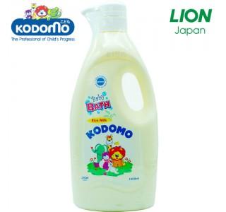 小狮王婴儿香米牛奶沐浴露 1000ml X12瓶家庭装