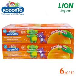小狮王儿童啫喱牙膏40克x36支 橘子口味