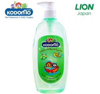 可吹泡泡小狮王无泪洗头泡泡沐浴二合一 400ml Kodomo Hair & Body Wash