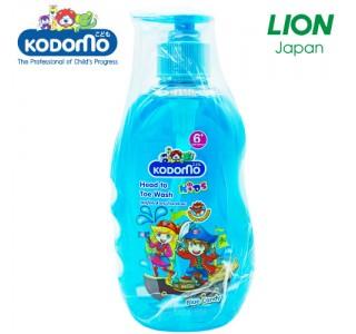 小狮王6岁以上儿童洗头身体沐浴二合一(蓝色糖果味)