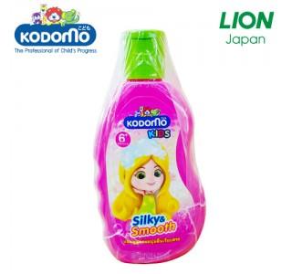 小狮王6岁以上儿童洗发水 丝滑&光滑 200ml X3瓶装