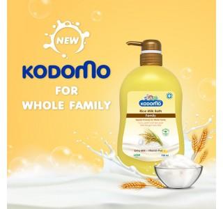 kodomo大米牛奶沐浴露土豪金版大容量750ml