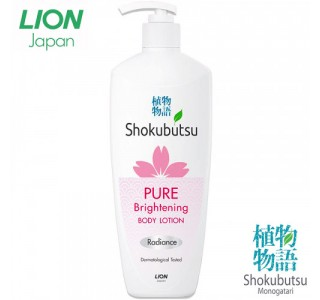 植物物语 美白系列身体乳液 420ml Shokubutsu Monogatari Body Lotion 家庭装12瓶