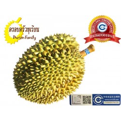 泰国优质金枕榴莲B档 4-5斤/只 4个工作日内到货