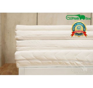 泰国直邮中国-天然乳胶床垫厚20厘米 双人超大床 180X200X20CM
