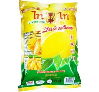 泰泰芒果干 泰国制造 380克大包 每包内有2包190克 x10大包