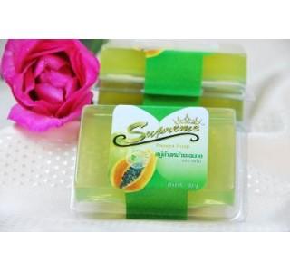 สบู่ล้างหน้ามะละกอสุพรีม (PAPAYA SOAP)