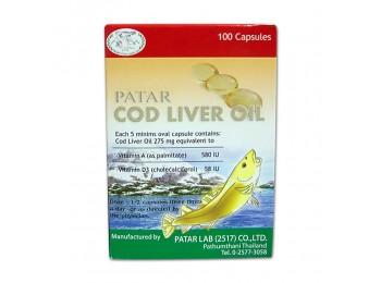 (鳕鱼鱼肝油)275 毫克Patar Cod Liver Oil